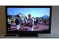 "Panasonic Viera 37"" Widescreen Plasma TV with Inbuilt Freeview and Remote"