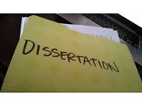 LSE/Cambridge educated... Dissertation Specialist, Lit Reviews, Thesis, Essays, Assignment