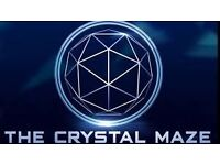The Crystal Maze! 3 tickets for sale on Weds 1st March, 3pm in Islington