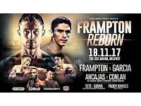 Carl Frampton SSE Arena Belfast **FACE VALUE / ACTUAL TICKETS **