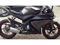 Yamaha YZF125R - Grey. Great condition