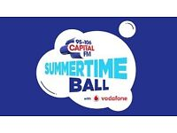 Capital Summertime Ball 4 tickets