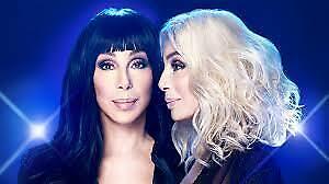 Cher Tickets May 25 -LOWER BALCONY ROW 3 & UPPER BALCONY SEATS !