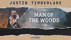 Two tickets to Justin Timberlake - Sat, Oct 13 Quebec City