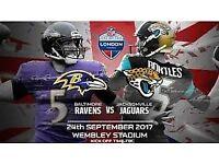 NFL Ravens vs Jags Wembley 24th September