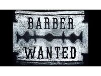 barber required £100-£120 a day