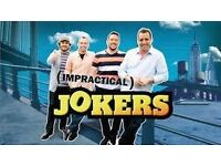 **FLOOR SEATS** Impractical Jokers x2 London O2 Arena 07/10