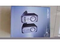 Brand new ,boxed bush 2.0 s20032 speakers .rrp £39.99