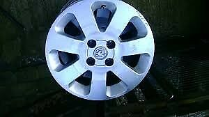 Corsa c sxi alloy wheels and tyres