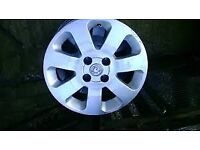 Corsa c sxi alloy wheels and tyres