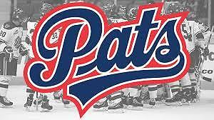 For Sale-2 Pats vs Hurricanes Game 5 Tickets April 28