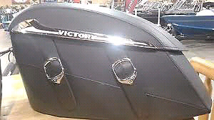 Victory Saddlebags BRAND NEW never mounted