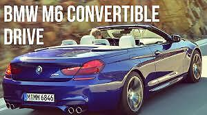 2012 BMW M6 Convertible Wanted