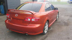 2004 Mazda 6 4doors auto , Safety e test and warranty London Ontario image 4