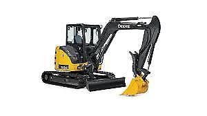 2014 John Deere 50G Excavator, 1600 hours only