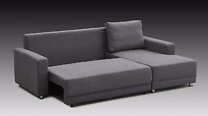 Brand new-Super comfortable Sectional sofa/futon $699--ON SALE
