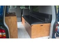 T5 T4 Camper side bed unit