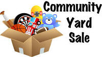 Community yardsale Sept 18th and 19th