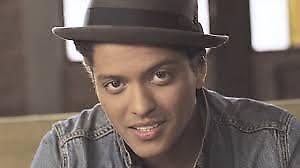 Bruno Mars Saturday Sept 22 8 pm