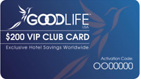 FREE $200 Hotel & Resort VIP CLUB CARD