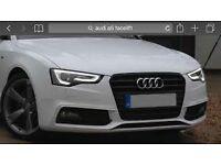 Audi a5 face-lift bonnet 2012 to 2016