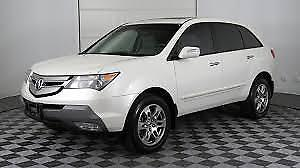 LOOKING to buy 2009 0r 2010 Acura MDX White colour