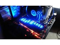 BALLISTIX TRACER WITH LED LIGHTS FAST CRUCIAL RAM 2 X 2GB 4GB MATCH PAIR UDIMM DIMM DESKTOP PC