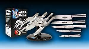 X-WING Star Wars Knife block