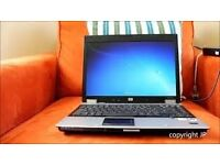laptop wireless hp 3 gb ram 160 harddrive/// wiped clean ready for reuse