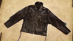 Ladies leather jacket, Harley, Screamin Eagle, Motorcycle