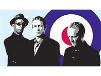 Ocean Colour Scene Standing Tickets Sunday 19th August Don Valley Stadium Sheffield