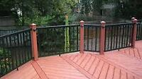 Experienced deck builder for hire! Free quotes in Calgary