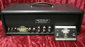 Mesa Boogie Amp, speakers, foot-switch, manual,  5 Hours use.