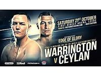 Josh warrington fight tickets