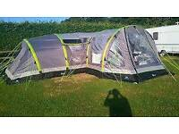 Nimbus 8 tent and porch and carpet and footprint