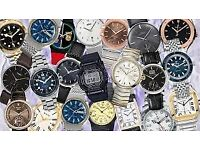 wanted watches digital or analog brokenn spares parts for enthusiast