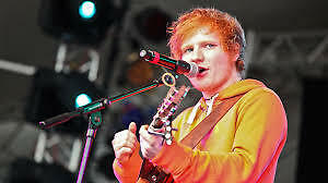 Ed Sheeran Tickets Edmonton July 26 - LOWER BOWL CLUB SEATS !!!
