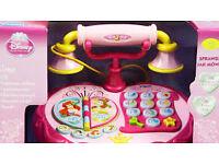 VTECH DISNEY PRINCESS TALK AND TEACH INTERACTIVE PHONE