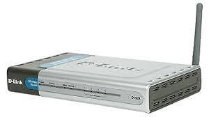 Dlink Dl-624 wireless router