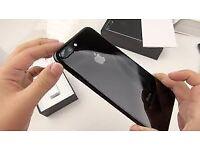 Iphone 7plus black 32gb unlocked new