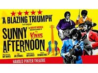 2 Sunny Afternoon - Musical tickets ( Nottingham Royal Concert hall - 19:30h)