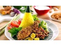 Indonesian Yellow rice catering