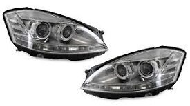 2x S-CLASS W221 06-09 PRE-FACELIFT AFS HID D1S Headlights / Lamps CH for Mercedes-Benz