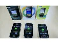 Samsung galaxy Acc mini Brand new with warranty and accessories unlocked!