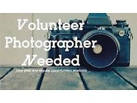 VOLUNTEER PHOTOGRAPHER WANTED FOR COMMUNITY EVENT