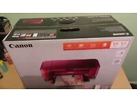 RED CANON PIXMA MG3650 Wi-Fi PRINTER/SCANNER/PHOTOCOPIER ONLY £25!!!