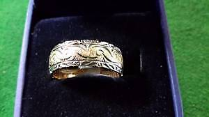 Men's Karat Gold Ring Band $299