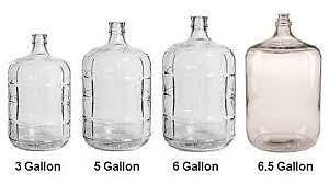 3 Gallon Glass Carboy for Wine or Beer