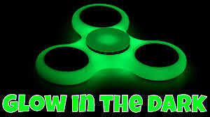 Fidget Spinners in stock including Glow-in-the-Dark and Batman