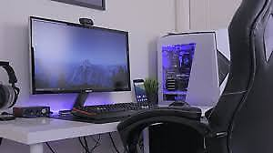 Gaming setup for sale! Includes Gaming Pc, Xbox and peripherals!